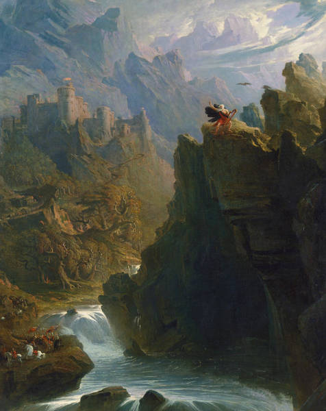 Painting - The Bard by John Martin