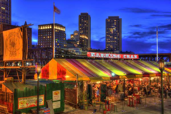 Photograph - The Barking Crab - Boston Nightlife by Joann Vitali