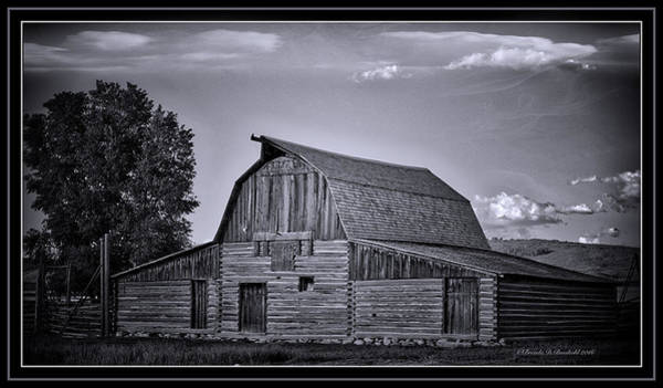 Wall Art - Photograph - This Old Barn  by Brenda D Busskohl