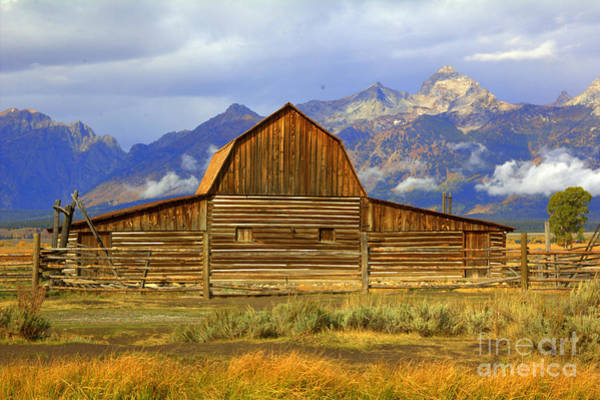 Photograph - The Barn by Cynthia Mask