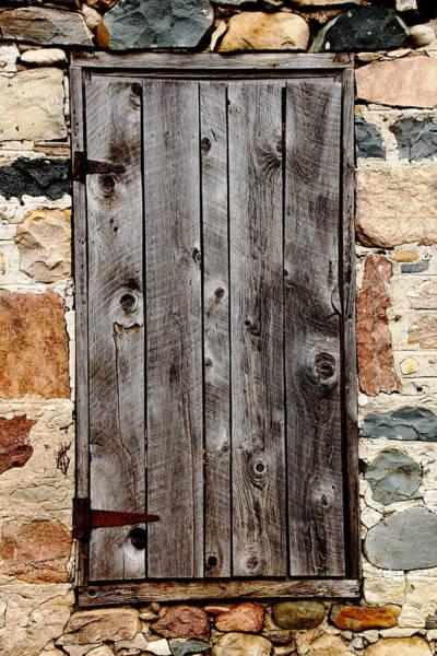 Knot Hole Photograph - The Barn Door by Debbie Oppermann