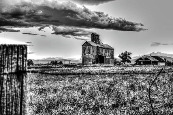 Photograph - The Barn by Tyson Kinnison