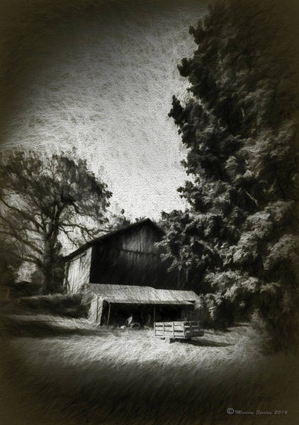 Wall Art - Photograph - The Barn Yard Wagon by Marvin Spates