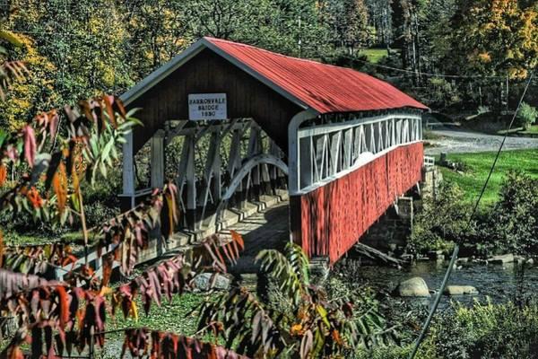 Laurel Hill Creek Photograph - The Barronvale Bridge by Shelley Smith