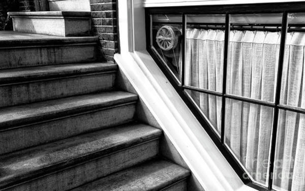 Photograph - The Basement Window Mono by John Rizzuto