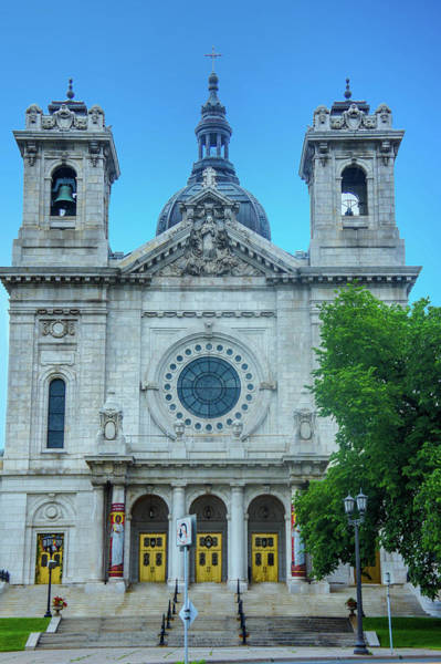 The Basilica Of Saint Mary Art Print