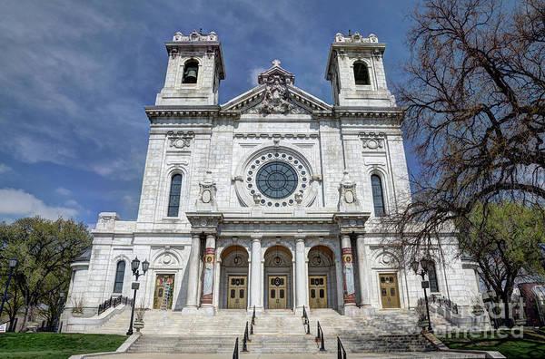 Wall Art - Photograph - The Basilica Of Saint Mary Minneapolis Springtime 2 by Wayne Moran