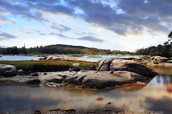 Loftus Photograph - The Basin, Vinalhaven, Maine by Michele A Loftus