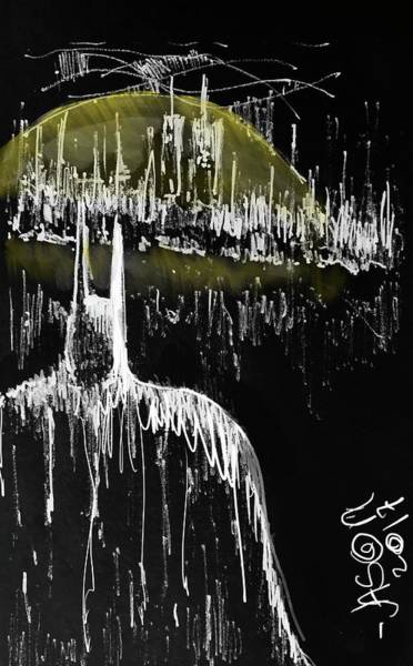 Digital Art - The Bat Guardian by Jason Nicholas