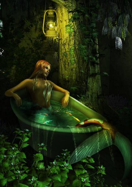 Fairy Pools Digital Art - The Bath by Cheri Stollings