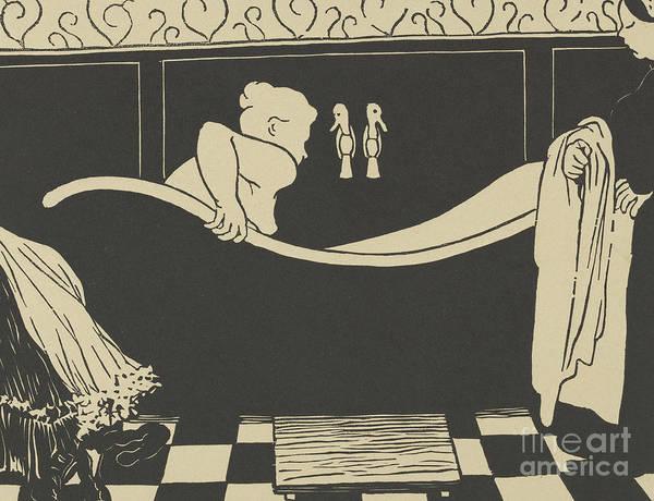 Wall Art - Painting - The Bath by Felix Edouard Vallotton