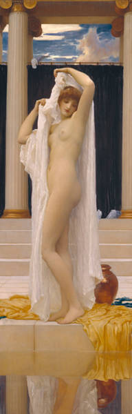 Wall Art - Painting - The Bath Of Psyche by Frederic Leighton