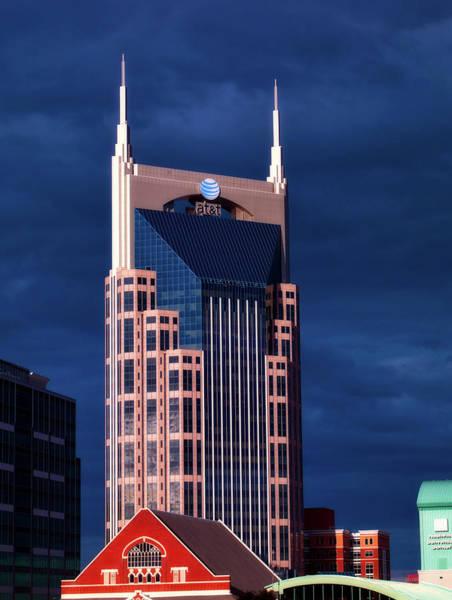 Ryman Auditorium Photograph - The Batman Building - Nashville by Mountain Dreams