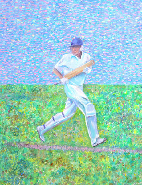 Painting - The Batsman by Elizabeth Lock