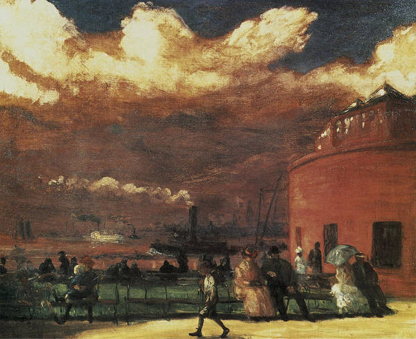 Photograph - The Battery by William Glackens