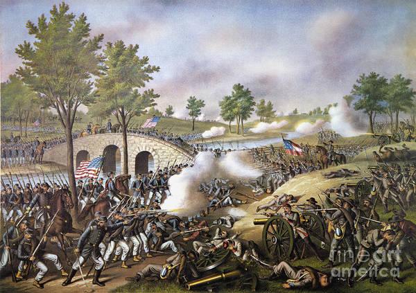 Allison Photograph - The Battle Of Antietam, by Granger