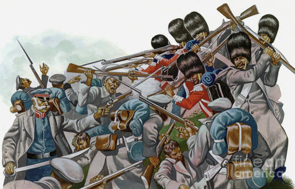 Wall Art - Painting - The Battle Of Inkerman, 1854 by Ron Embleton