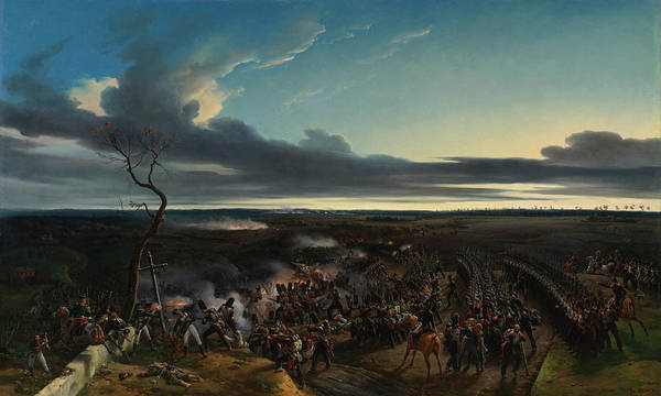 Victorious Painting - The Battle Of Montmirail by Emile-Jean-Horace Vernet