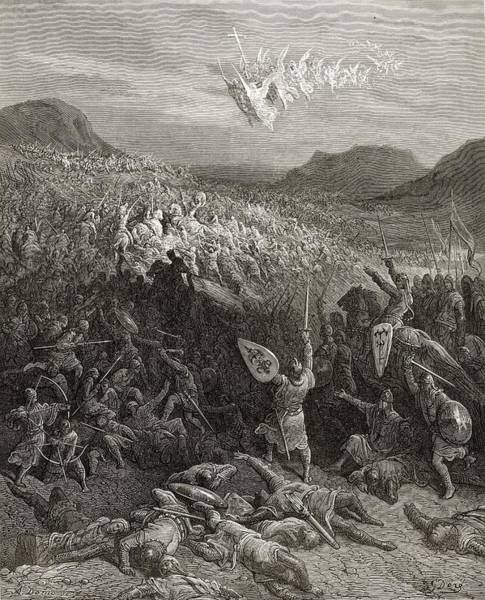 Wall Art - Drawing - The Battle Of Nicaea Anatolia During by Vintage Design Pics