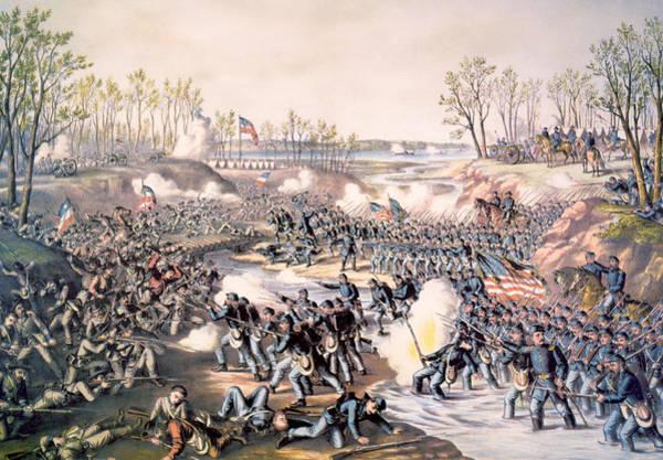 The Battle Of Shiloh, April 6-7, 1862 Art Print