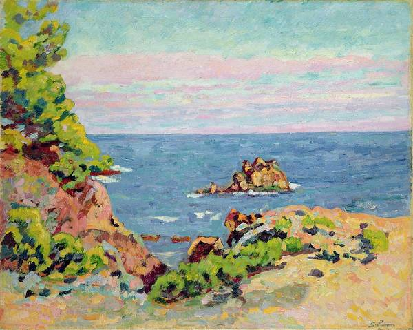 Azure Painting - The Baumettes by Jean Baptiste Armand Guillaumin