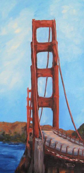 Wall Art - Painting - The Bay Bridge  by Torrie Smiley