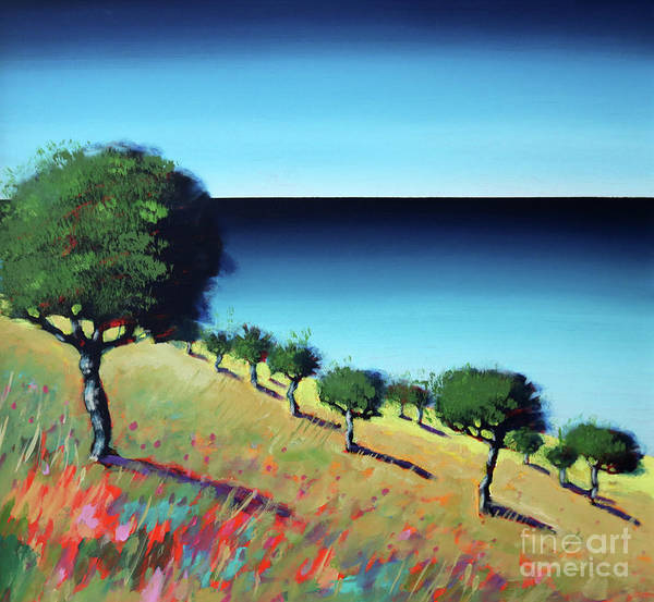 Almond Painting - The Bay II by Paul Powis