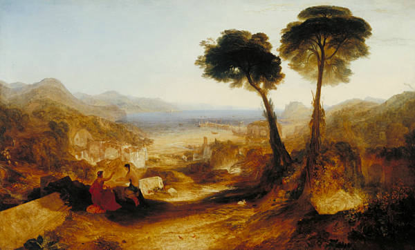 Painting - The Bay Of Baiae With Apollo And The Sibyl by Joseph Mallord William Turner
