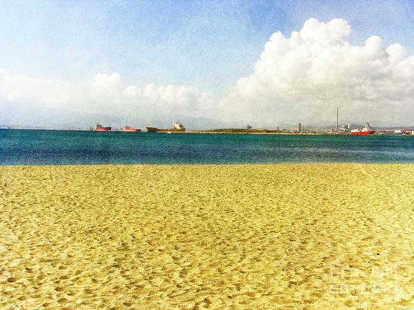 Wall Art - Photograph - The Bay Of Gibraltar by Mary Machare