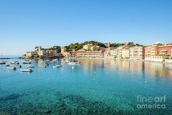 Sestri Levante Photograph - The Bay Of Silence by Julie Woodhouse