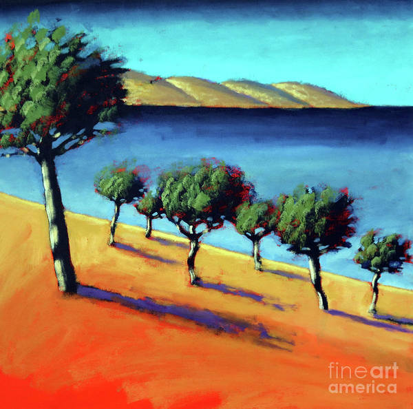 Almond Painting - The Bay by Paul Powis