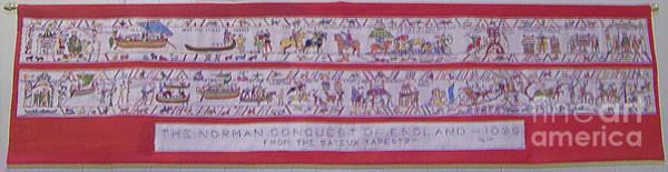 The Bayeux Tapistery Art Print