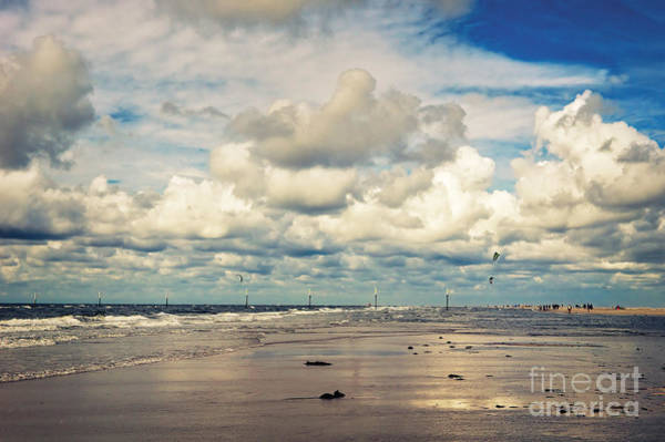 Photograph - The Beach by Angela Doelling AD DESIGN Photo and PhotoArt