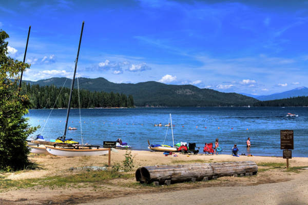 Photograph - The Beach At Hill's Resort by David Patterson