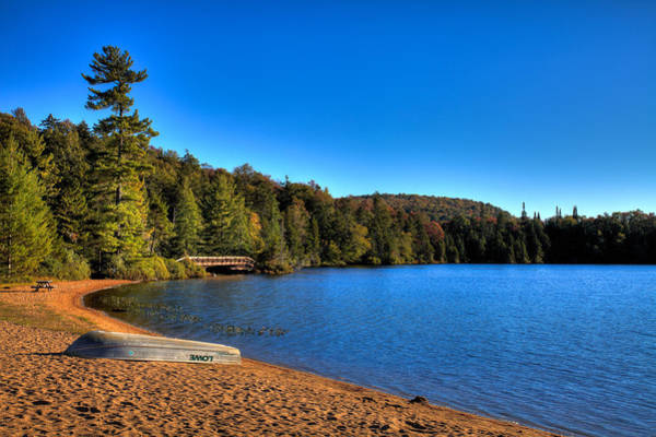 Photograph - The Beach At Nicks Lake by David Patterson