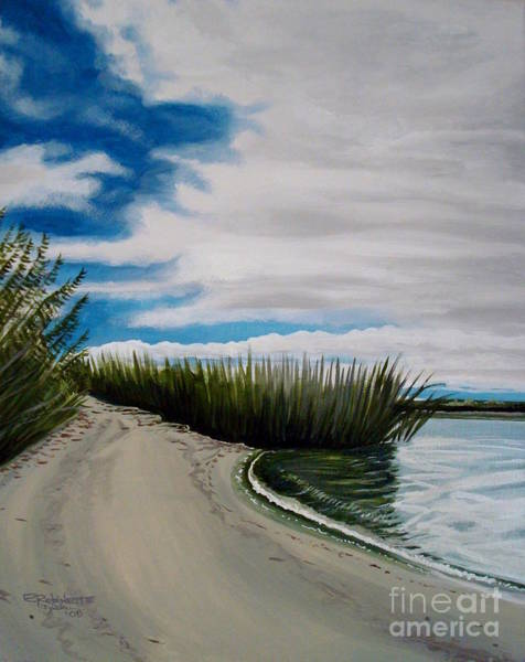 Painting - The Beach by Elizabeth Robinette Tyndall