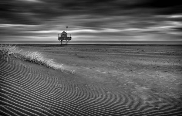 Wall Art - Photograph - The Beach Hut by Peter Elgar