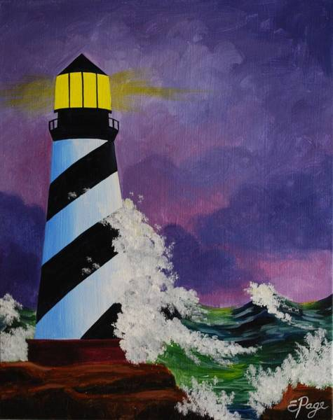 Painting - The Beacon by Emily Page