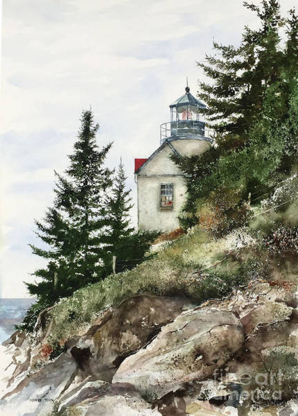 Painting - The Beacon by Monte Toon
