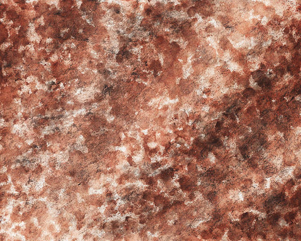 Sponge Painting - The Beams Of Light Beige Abstract by Irina Sztukowski
