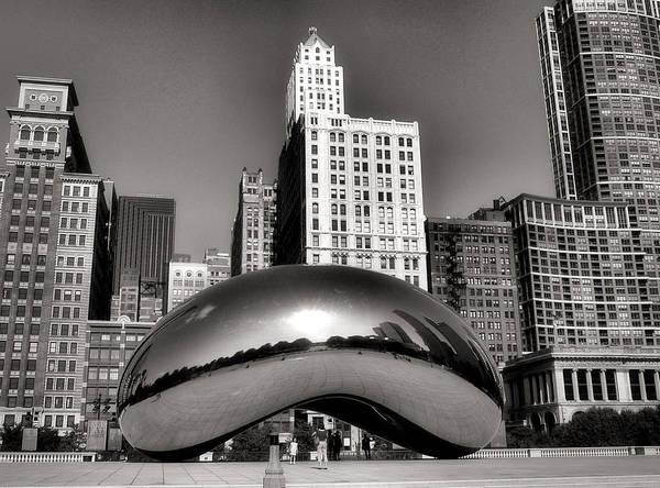 Sears Tower Photograph - The Bean - 3 by Ely Arsha