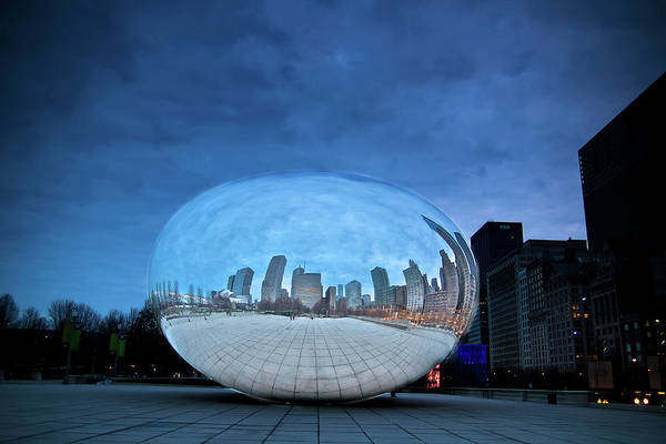 Photograph - The Bean by Dillon Kalkhurst