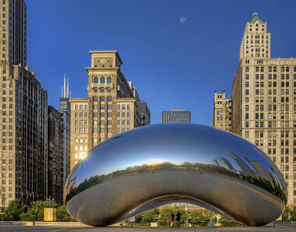Wall Art - Photograph - The Bean - Millennium Park - Chicago by Nikolyn McDonald