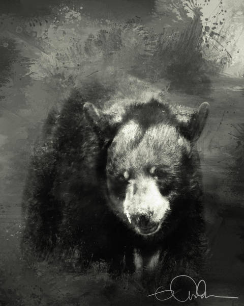 Digital Art - The Bear by Gloria Anderson
