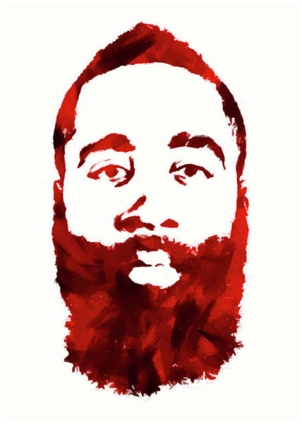 Wall Art - Digital Art - The Beard 3 by Ricky Barnard