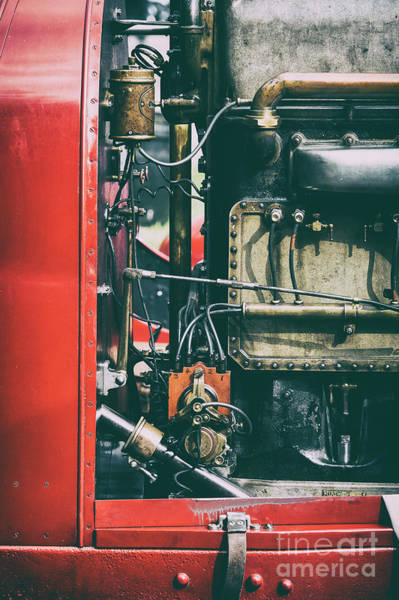 Photograph - The Beast Of Turin Engine by Tim Gainey