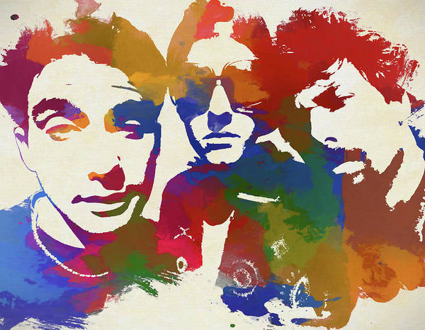 Wall Art - Painting - The Beastie Boys by Dan Sproul
