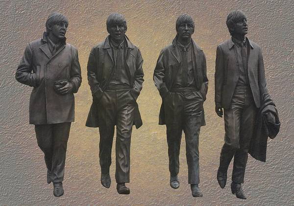 Mixed Media - The Beatles by Movie Poster Prints