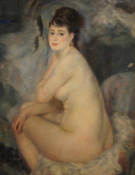The Beautiful Anna Art Print by Pierre Auguste Renoir