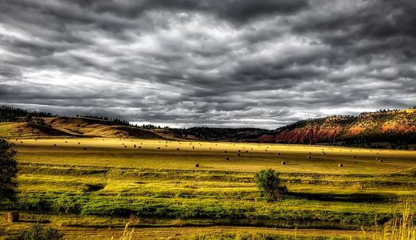 Crooked River Photograph - The Beautiful Belle Fourche River Valley by Mountain Dreams